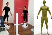 اسکن سه بعدی بدن انسانها