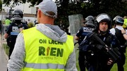 جلیقه زردها برای بیست و هشتمین شنبه به خیابان های فرانسه آمدند