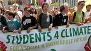 اعتراض جوانان برای تغییرات اقلیمی | ۱۳۵۱ راهپیمایی در بیش از ۱۱۰ کشور