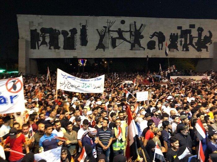 تظاهرات هواداران صدر در عراق