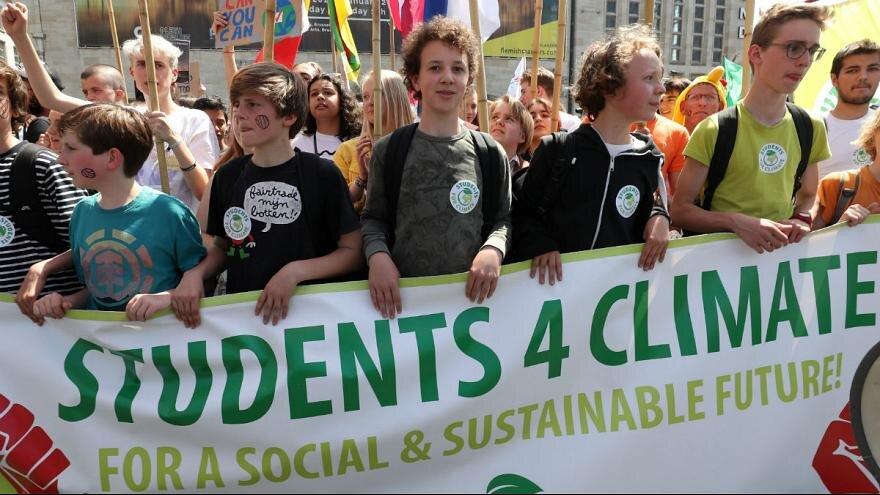 اعتراض جهانی جوانان برای تغییرات اقلیمی