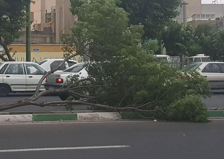 توفان تهران