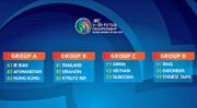 برنامه کامل مسابقات فوتسال زیر ۲۰ سال آسیا