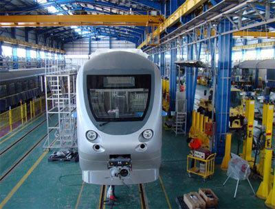 سالن تزئينات ساخت واگن مترو