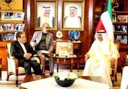 عراقچی پیام ظریف را به وزیر خارجه کویت تحویل داد