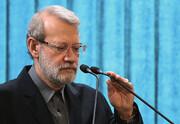 لاریجانی: مذاکره مجدد هستهای معنا ندارد معامله قرن نشانه دلالمآبی آمریکاست