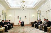 تاکید روحانی بر گسترش روابط تهران با دوشنبه