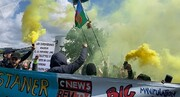 اولین تظاهرات جلیقه زردها پس از انتخابات پارلمان اروپا