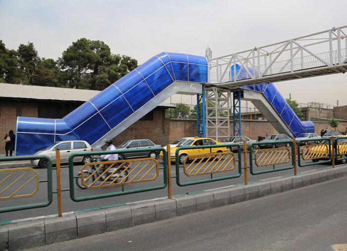 پل عابر مکانیزه شهید منتظری