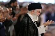 اقامه نماز عید فطر تهران به امامت حضرت آیتالله خامنهای