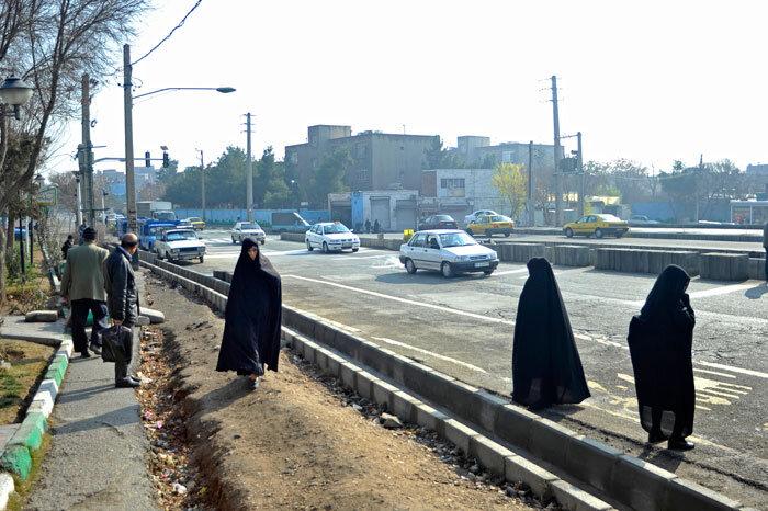 جاده امین آباد