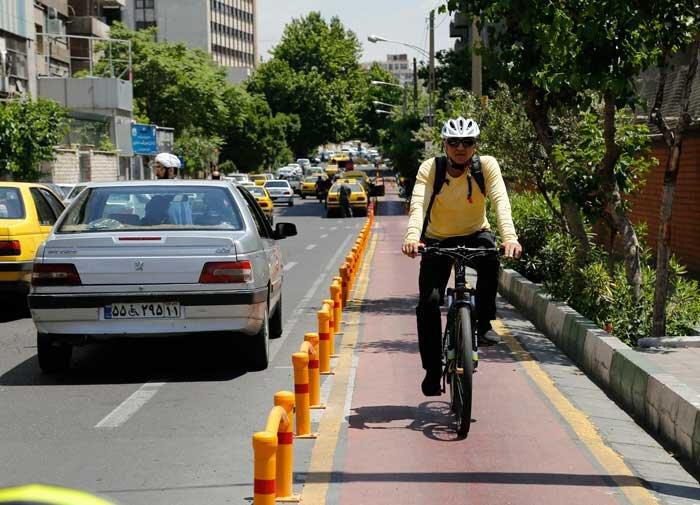 مسیر دوچرخه رو