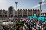 خدمات شهرداری تهران برای نمازگزاران عید فطر