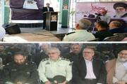 قتل گاه کفن پوشان ۱۵ خرداد گلباران شد
