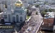 ببینید | مسکو؛ عید فطر