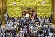عکس | برگزاری باشکوه نماز عید فطر در بین الحرمین