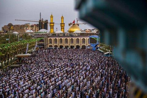 نماز عید فطر در بین الحرمین