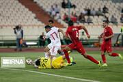 عکس   فوتبال دوستانه ایران و سوریه با پنج گل