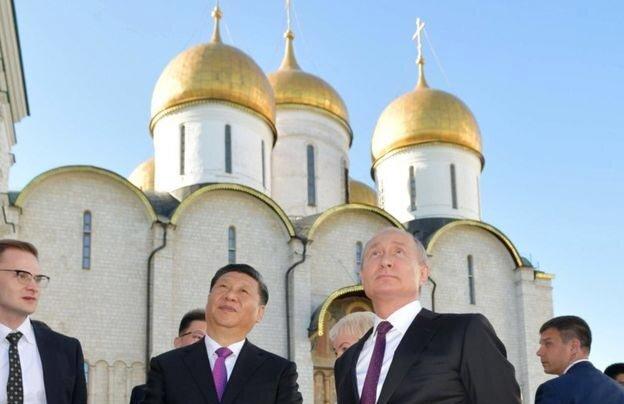 روسیه چین