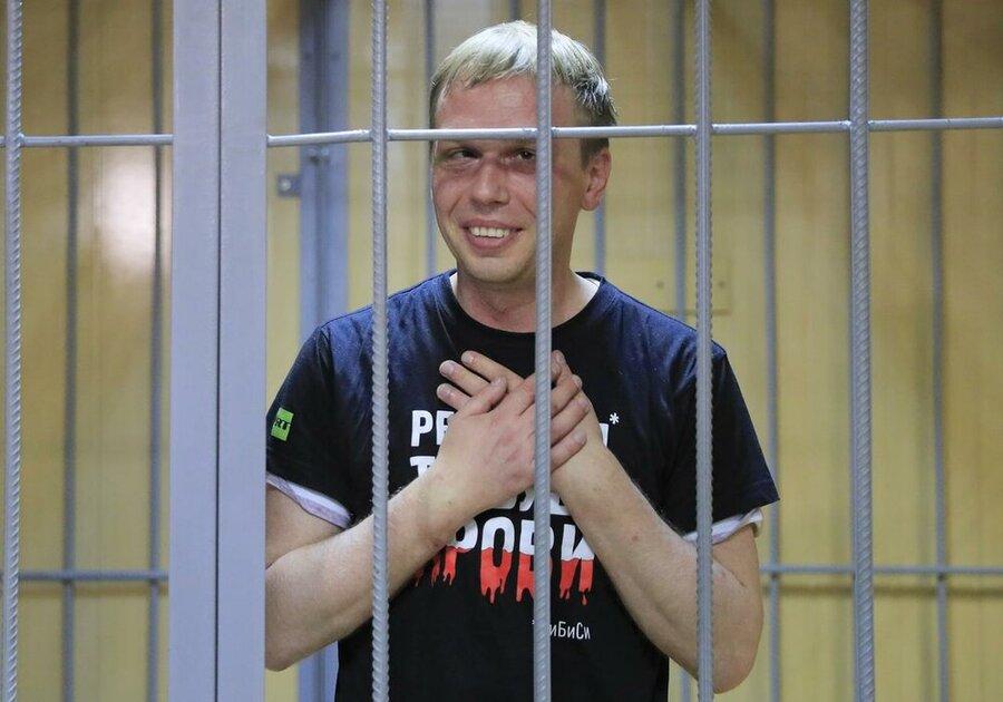 روزنامهنگار مفاسد اقتصادی روسیه به اتهام حمل مواد مخدر بازداشت شد
