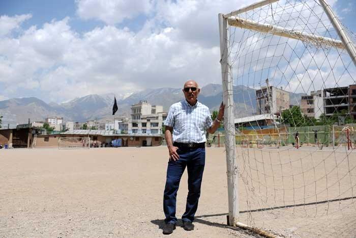 دینورزاده پیشکسوت فوتبال