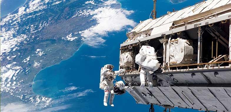 ناسا ايستگاه فضايي
