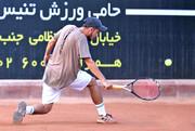 امیرحسین بادی عنوان قهرمانی تنیس جایزه بزرگ کشور را تصاحب کرد