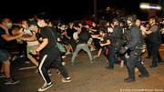 بزرگترین تظاهرات سی سال گذشته هنگ کنگ به خشونت کشیده شد