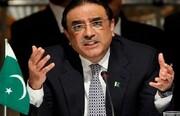زرداری رئیس جمهور پیشین پاکستان بازداشت شد