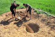زخم چاههای غیرمجازبر خاک گلستان