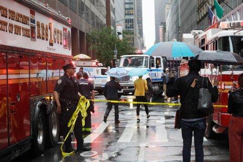 حادثه روز | سقوط هلیکوپتر در نیویورک