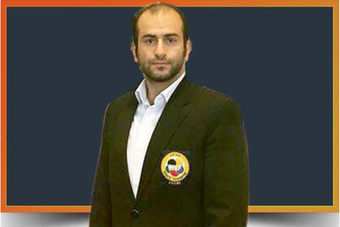 دستمالچی، داور بینالمللی رشته کاراته