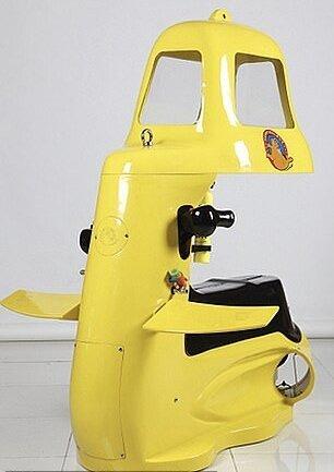 اين موتورسیکلت یک زیردریایی شخصی است!