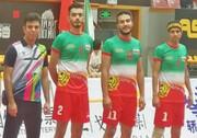 سپک تاکرای قهرمانی آسیا؛ یک پیروزی و یک شکست برای تیم ایران