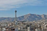 افزایش غلظت ازن در هوای تهران طی امروز