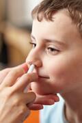 نکته بهداشتی: استفاده ایمن از اسپری بینی