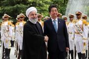 تصاویر   استقبال رسمی حسن روحانی از نخست وزیر ژاپن