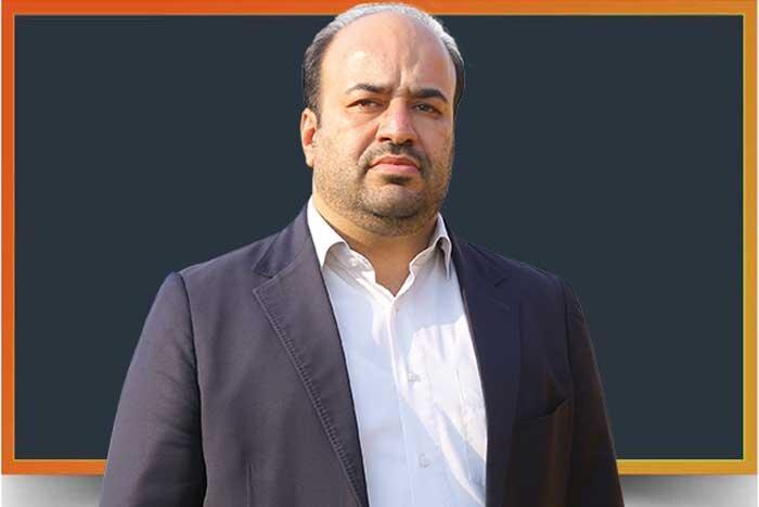 محمد علویزاده رئیس اداره تاکسیرانی منطقه4