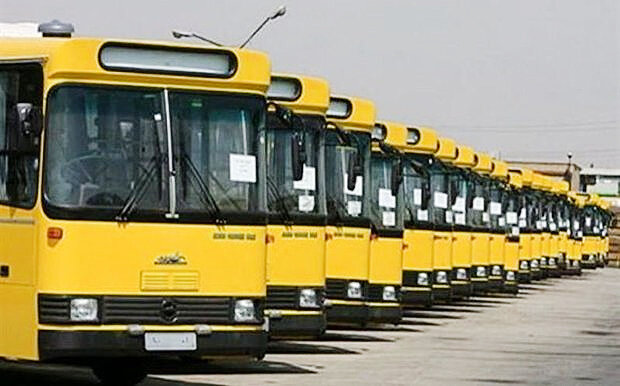 اتوبوسهاي گازسوز