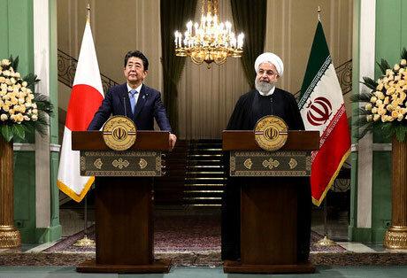 روحانی - نخست وزیر ژاپن