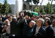 عکس   مراسم تشییع پیکر محمدرضا حافظی مدرسهساز خیر