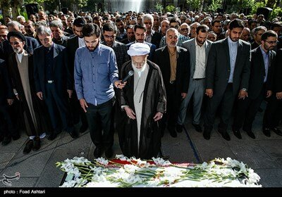 تشییع پیکر محمدرضا حافظی