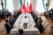 روحانی: ایستادگی ایران و چین در برابر یکجانبهگرایی آمریکا به نفع آسیا و جهان است