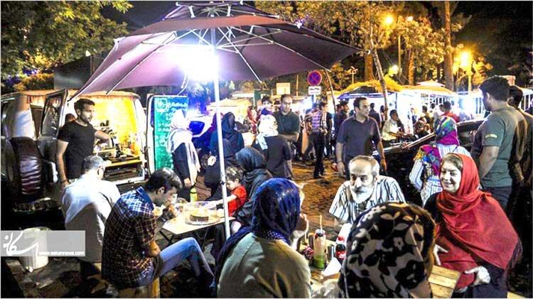 حيات شبانه تهران