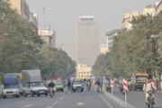 افزایش غلظت آلاینده ازن در تهران طی امروز