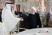 روحانی در دیدار امیر قطر: همکاری با کشورهای همسایه از اصول ثابت سیاست خارجی ایران است