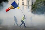 سیویکمین هفته تظاهرات جلیقه زردها در پاریس
