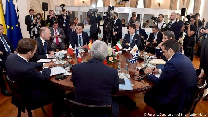 اجلاس كشورهاي جنوب اروپا