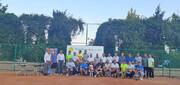 پایان رقابت های تنیس پیشکسوتان با معرفی نفرات برتر