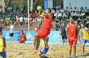 هندبال ساحلی قهرمانی آسیا؛ پیروزی ایران مقابل تایلند در دومین بازی